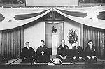 昭和6年、飯塚中野両師範勤続祝賀