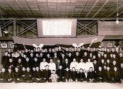 昭和14年、卒業生送別大会記念