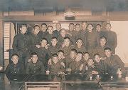 昭和15年、慶應予科高等部柔道部予科会