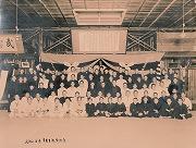 昭和16年後期、卒業生送別大会記念
