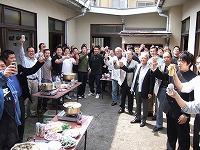 平成19年3月29日 旧合宿所「さようなら合宿所・ありがとうの鍋会」開催
