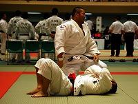 平成20年5月25日、第57回東京学生柔道優勝大会にて久保田主将が28年ぶりの1部復帰を決めた瞬間