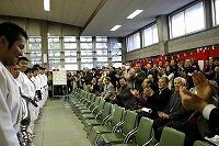 平成20年11月23日、第60回早慶対抗柔道戦で29年ぶりに優勝。ご声援いただいた皆さんへの優勝報告