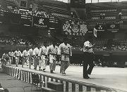 昭和43年6月15日、6年ぶりに第17回全日本学生柔道優勝大会に出場(於日本武道館)