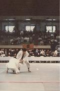 昭和54年、第31回全日本学生柔道体重別大会に羽鳥信先輩(昭和55年卒)出場