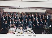 平成13年9月7日、第50回四季の会(年代横断のOB会)石川忠雄先生を囲んで