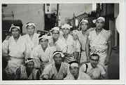 昭和38年、四国遠征で阿波踊りに参加