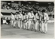 昭和54年、第28回全日本学生柔道優勝大会ベスト16。