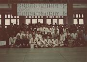昭和54年、第31回早慶対抗柔道戦で、9人残しの大勝で連勝。