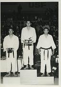 昭和40年4月23-24日、第13回全米柔道選手権にて、友田義輔先輩が180ポンド未満級で優勝。