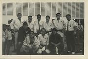 昭和41年11月、カンボジアで開催されたアジア新興国競技大会(GANEFO)に参加