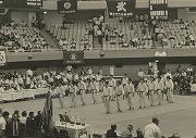 昭和49年6月、6年ぶりに全日本学生柔道優勝大会出場、対同志社大学戦(於日本武道館)