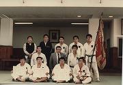 昭和56年、第24回東京学生選抜柔道(二部)優勝大会優勝