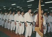 昭和62年、第30回東京学生柔道二部大会で優勝