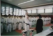 平成17年、第7回慶應杯争奪柔道大会、開会式選手宣誓