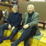 昭和36年清水先輩と昭和40年吉坂先輩
