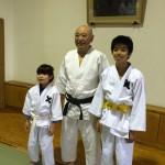 昭和35年加藤先輩とお孫さん