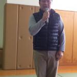 幼稚舎監督清水さん報告