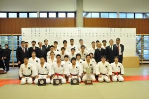 2012年第64回早慶対抗柔道戦優勝記念